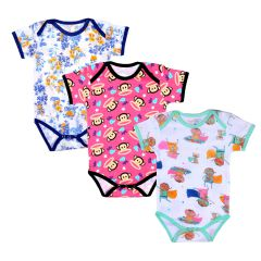 Romper Printed Full Sleeves -  Superkids/Monkey/Floral