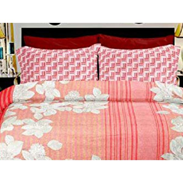 Double Bedsheet Eternal Tangle Art - Blossom Liner Peach