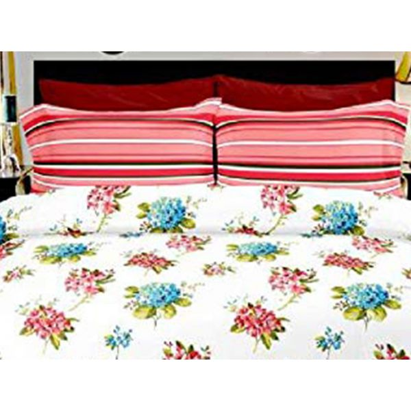 Double Bedsheet Eternal Tangle Art - Starwort Pink