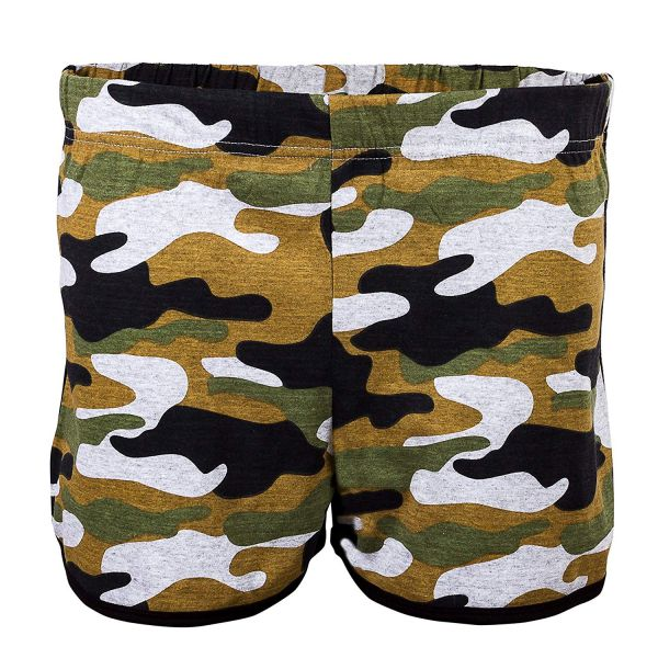 Women's Shorts - Camouflage Green