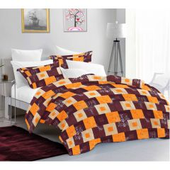 Sicily King Size Bedsheet with 2 Pillow Covers