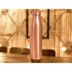 NORMAN JR Extra Large Premium Copper Water Bottle , 1 L