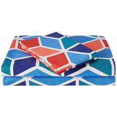 Double Bedsheet - Casa Basics - Multicolour
