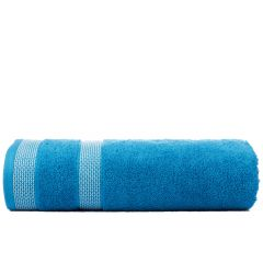 Solitaire 550 GSM Large Bath Towel-Blue Bird