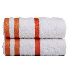 Exotic Hand Towels - White