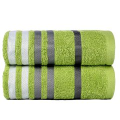 Exotic Hand Towels - Lime Green