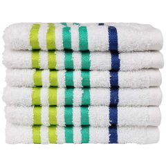 Exotic Face Towel - White