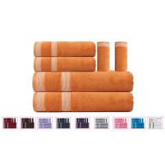 Solitaire Towel Set - 6 Pcs