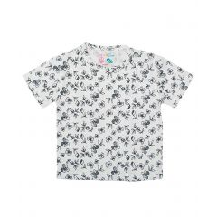 Baby T-Shirt  Half Sleeves - Flower Black