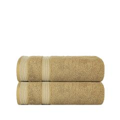 Solitaire 550 GSM Hand Towels Pack of 2-Beige